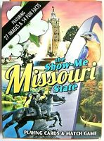 Missouri The Show-me State Playing Cards