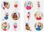 Childrens-tatuajes-temporales-Fiesta-Loot-Bolsa-Relleno-Diversion-Juguetes-Ninos-Ninas-Ninos miniatura 3