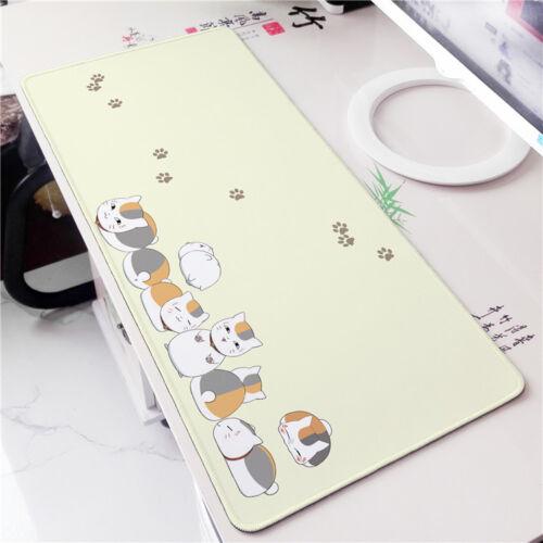 Anime Natsume Yuujinchou Neko Play mat GAME Mousepad Otaku Cosplay 40*70cm#AL053