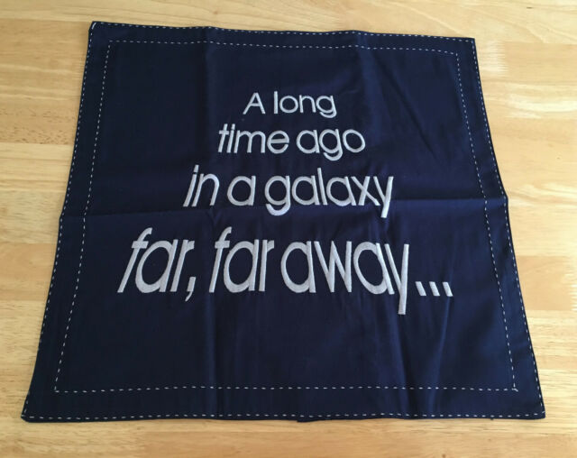 Pottery Barn Kids Vintage Star Wars A Long Time Ago In A