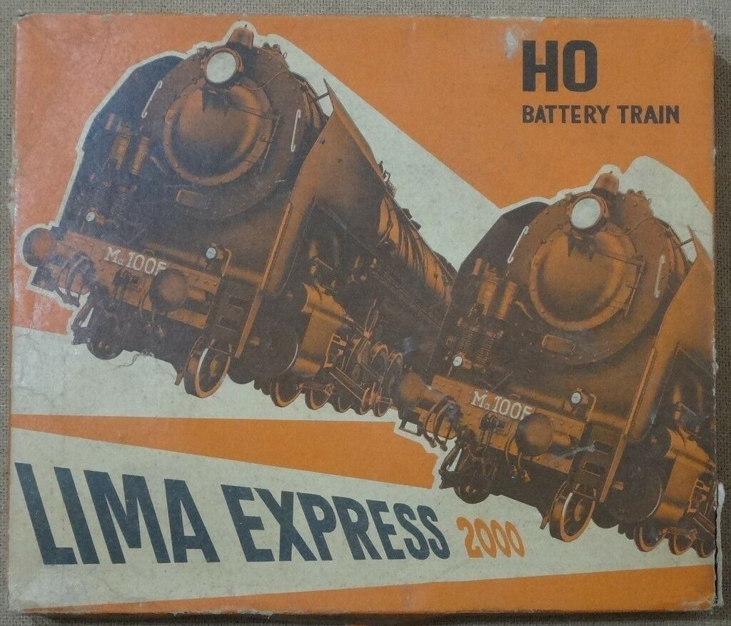 LIMA EXPRESS 2000 ME MERCI HO BATTERY TRAIN - VINTAGE
