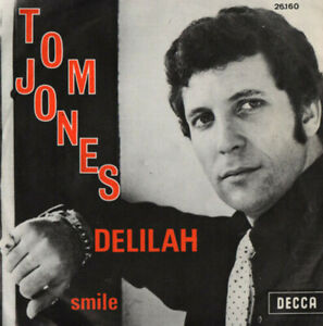TOM-JONES-Delilah-Smile-DECCA-Belgium-1968