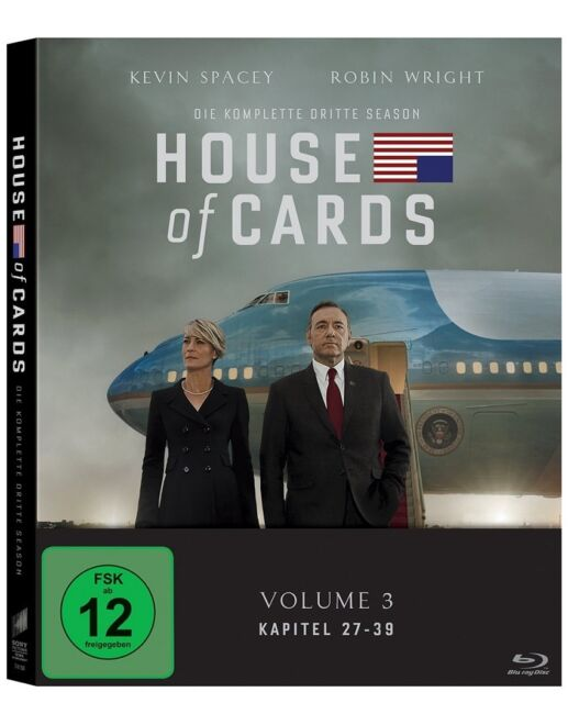 Blu-ray * House of Cards - Season/Staffel 3 * NEU OVP