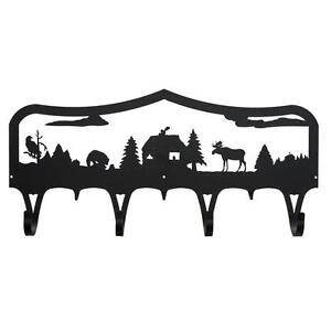 Moose-amp-Cabin-Coat-Rack-Bear-Eagle-Cabin-Hook-Hanger
