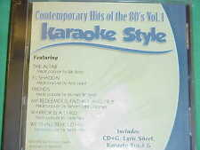 Contemporary Hits of the 80's~#1 ~ Christian ~ Daywind ~ Karaoke Style ~ CD+G