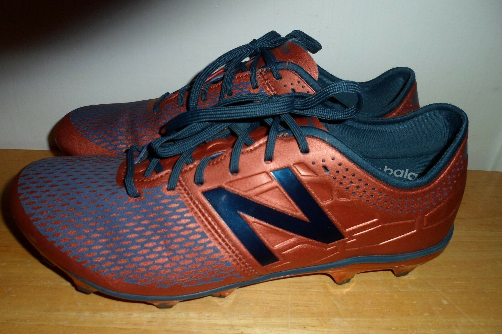 MUST SEE  224.99 New Balance Men's MSVLFCN2 Copper with North Sea 9 2E WIDE