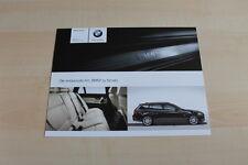 78486) BMW 3er Reihe E91 Touring - individual - Prospekt 02/2008