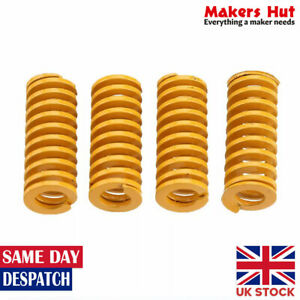4-Pcs-Yellow-Hot-Bed-Leveling-Springs-For-Creality-Ender-CR10-3D-Printer