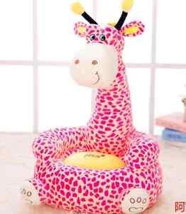 Image Is Loading Kids Sofa Giraffe Stuffed Animal Cartoon Bean Sofa