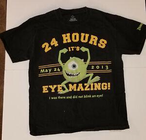 Disney-Disneyland-Mike-Wazowski-2013-T-Shirt-Monstrous-Summer-Exclusive-Medium