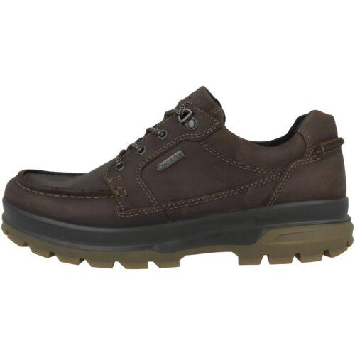 Ecco Rugged Track Schuhe Men Herren Outdoor Halbschuhe Schuhe mocha 838004-02178