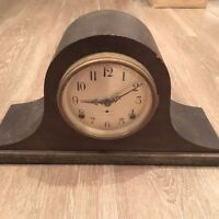 ANTIQUE VINTAGE SETH THOMAS CHIMING MANTLE SHELF CLOCK! OLD WESTMINSTER
