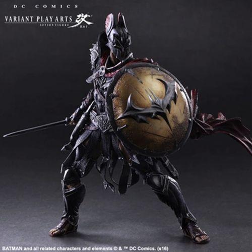 Nuevo Jugar Arts Kai Batman Caballero de la noche atemporal Spartan Warrior Figura Modelo
