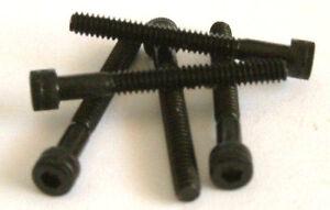 """0ba X 2 1/2 """"long Vis à Tête Cylindrique à Six Pans Creux Noir Haute Résistance-quantité 5 --afficher Le Titre D'origine Mode Attrayante"""