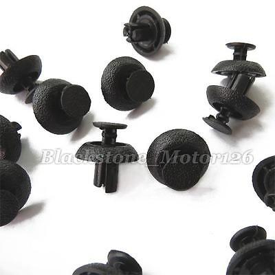 50 Radiator Cover Grille Clip Rivet Push Type Retainer Fasteners for Toyota