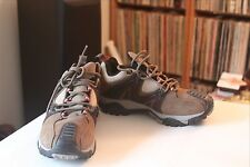 Merrell Reactor 1204 Continuum Brown Leather Vibram Sole Trail Shoes Sz 6