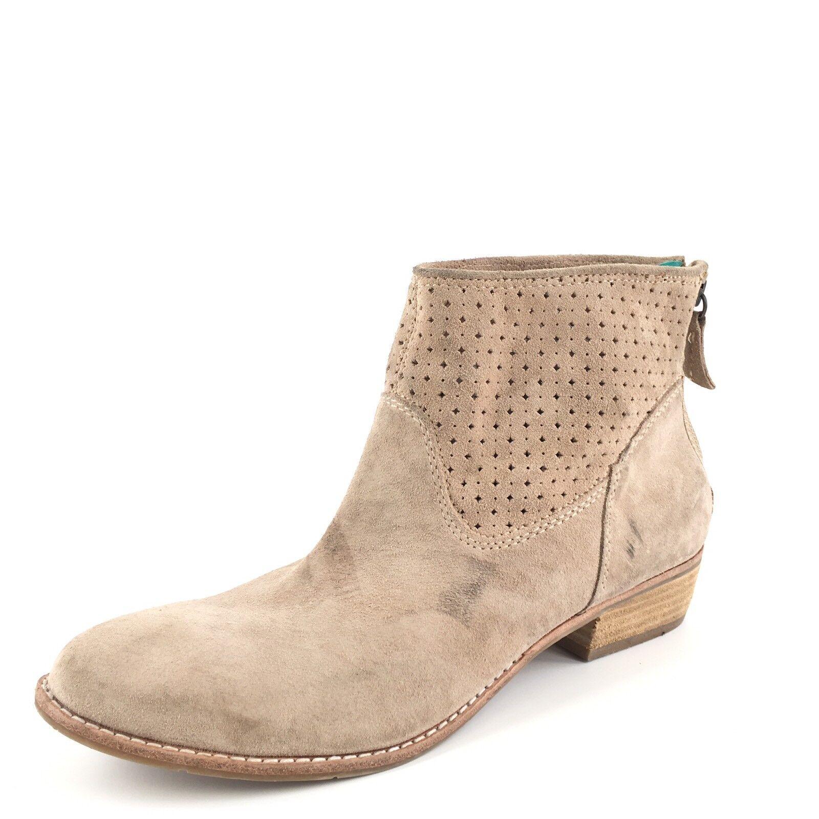 Dolce Vita mirra la terciopelo gris Boots Ankle Boots gris SZ 8,5 2880 785bfc