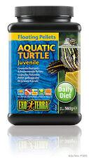Exo Terra Aquatic Turtle Juvenile Floating Pellets 19.7oz / 560g