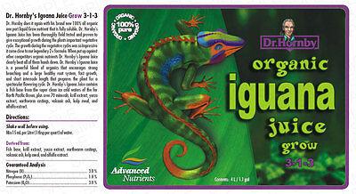 IGUANA JUICE GROW 30ML SAMPLE ADVANCED NUTRIENTS HYDROPONICS