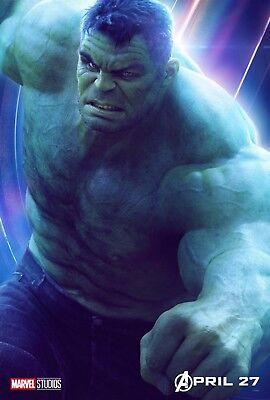 Banner Mark Ruffalo v22 Avengers: Infinity War Movie Poster 24x36 - The Hulk