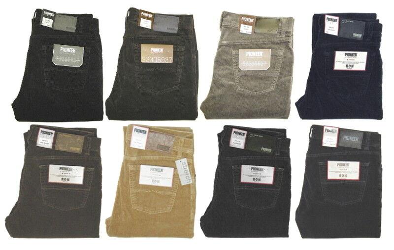 Pioneer Rando   Ron Corduroy Jeans Stretch 4 colors W 31 32 33 34 36 38 40 42 44