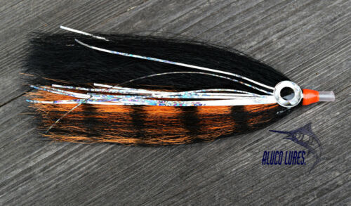 Pack of 3 Petrolero Offshore Tuna//Mahi Tube Flies 4-inch