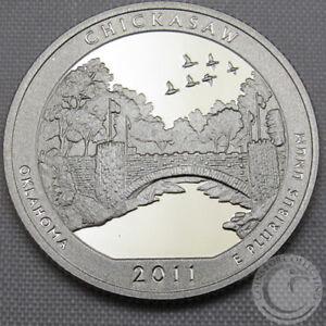 2011 S Parks Quarter ATB Glacier National Park Gem Deep Cameo Proof CN-Clad Coin