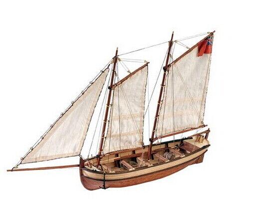 Artesania Latina 1/50 HMS Endeavour's Captain Longboat (Wooden kit)
