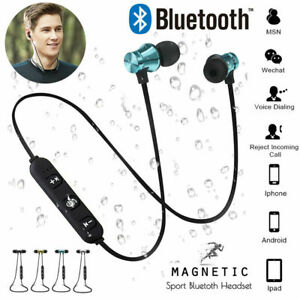 Dettagli su Cuffie Auricolari BLUETOOTH 4.2 per Huawei P Smart 2019 Magnetici Cuffiette
