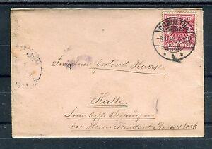 Reichspost-10-Pfg-EF-von-Corbetha-nach-Halle-06-11-1894-b1892