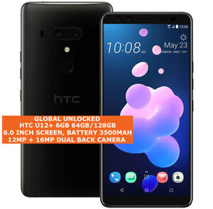 "HTC U12+ 6gb 64gb/128gb Octa-Core 16mp Fingerprint 6.0"" Dual Sim Android 9 LTE"