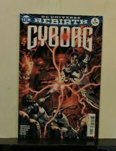 Cyborg Rebirth #5 January 2017