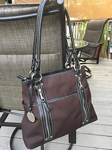 Franco Sarto Handbag Brown Ebay