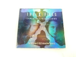 PC-CD-ROM-The-X-Files-Unrestricted-Access-2-Game-CDs-with-Manual