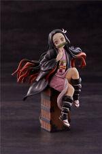 "Demon Slayer: Kimetsu no Yaiba Kamado Nezuko Sit on Box 5.8"" Action Figure USED"