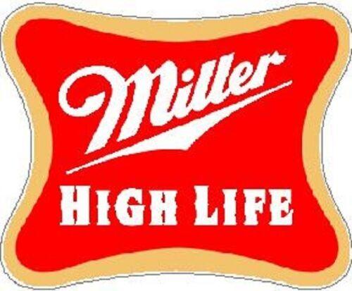 MILLER HIGH LIFE VINYL STICKER A4870
