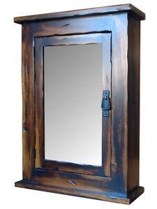 Image Is Loading Mission Rustic Medicine Cabinet Solid Wood Handmade