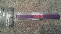 Nike Womens Performance Headband Purple,