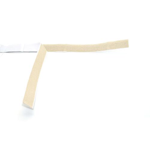 20mm Wide Self Adhesive Hook /& Loop Tape Strip Fastening ⋆ 4 Colours ⋆ 4 Lengths