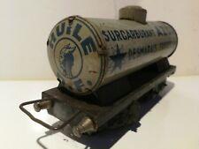 TRAIN ECHELLE O.HORNBY .8 DECALCOMANIES VIEILLES CITERNES AZUR .DIAMETRE 25 mm