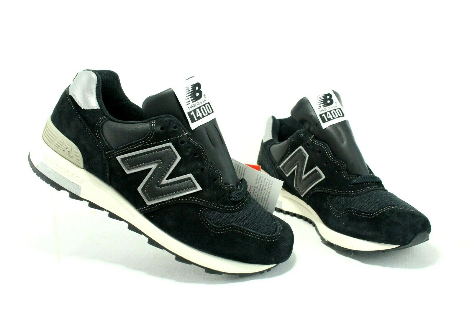 New Balance 1400 Made In USA M1400BKS Black Japan Exclusive Men's Size 6 or 7