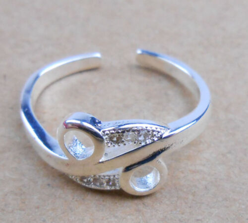 Wholesale 925 Sterling Argent plaqué Femmes Fashion Jewelry Rings Taille Open #15