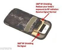 RF / RFID Shielding Cell Phone Case Handset Bag Porch Canvas Camo Black 8900206