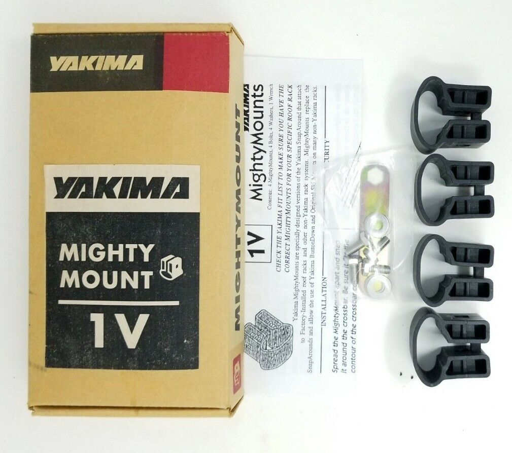 MightyMount 1V YAKIMA Horizontal MightyMount Crossbar Roof Rack Adaptor