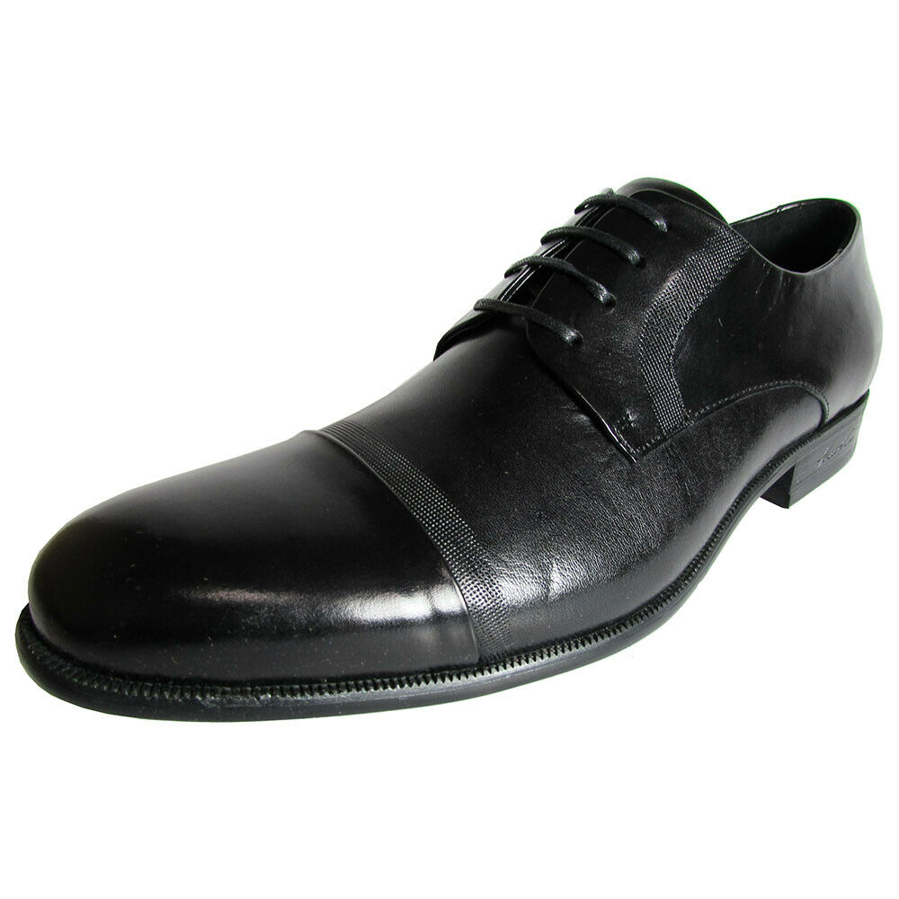Kenneth Cole New York Mens Chief of Staff Leather Oxford Shoes