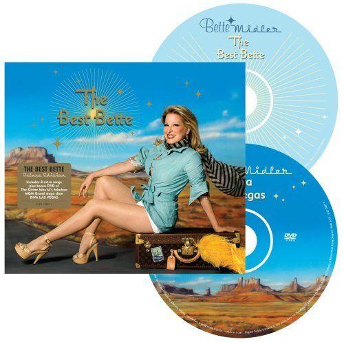 1 of 1 - Bette Midler - The Best Bette: Deluxe Edition - Bette Midler CD 14VG The Cheap