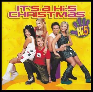 HI-5-IT-039-S-CHRISTMAS-CD-w-LYRICS-KIDS-CHILDREN-AUSTRALIAN-HI5-XMAS-NEW