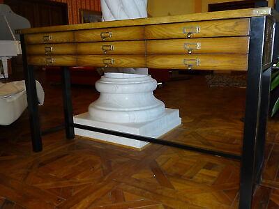 Ausdauernd Sidebord Kommode Antik Massivholz 1,52m Breit Mit SchubfÄcher Herrenzimmer