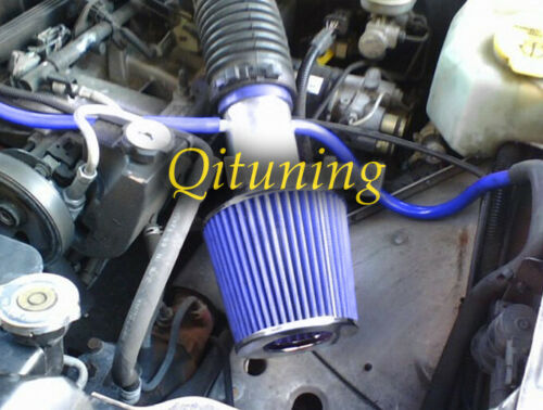 Blue Air Intake Kit For 1988-1996 Jeep Cherokee Laredo Country Classic 4.0L I6