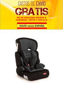 Piku NI20.6299 Silla de coche para niños grupo 1//2//3 gris claro
